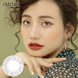 IMOOL Queen series quarterly mysterious gray colored contacts