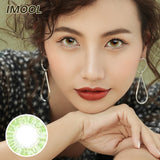 IMOOL Queen series quarterly mysterious green colored contacts