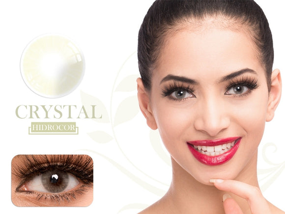 Fancylook Solotica yearly Contact Lenses Grystal Gray (2pcs/box)