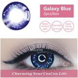 Bella Yearly Color Contacts Galaxy Blue (2pcs/box)