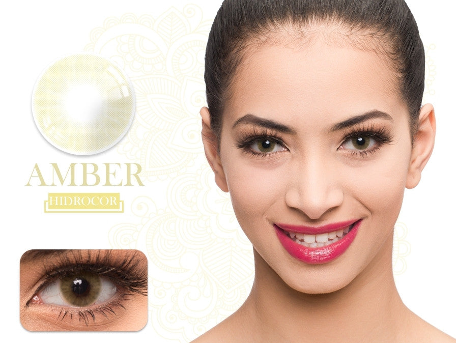 Fancylook Solotica yearly Contact Lenses Amber Brown (2pcs/box)