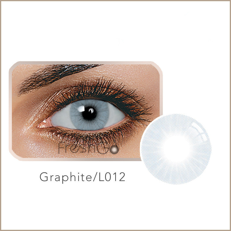 Fancylook Solotica yearly Contact Lenses Graphite Gray (2pcs/box)