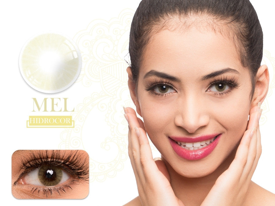 Fancylook Solotica yearly Contact Lenses Mel Brown (2pcs/box)