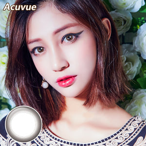 Acuvue Define size diameter disposable daily color contact lenses New Black