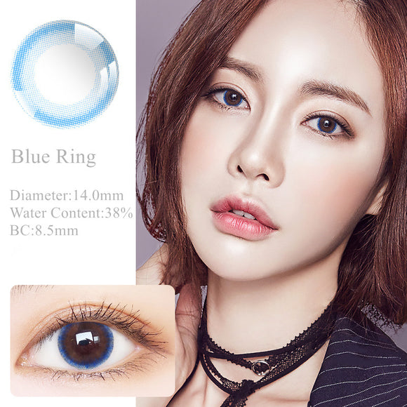RNTO Yearly Color Contacts Blue Ring (2pcs/box)