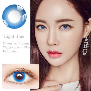 RNTO Yearly Color Contacts Light Blue (2pcs/box)