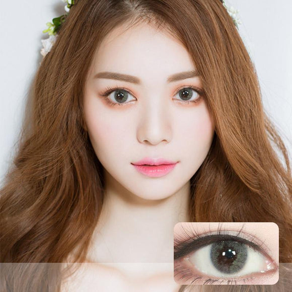 Korea Seehicolor disposable yearly colored contact lenses 2pcs packing MIMYO Grey