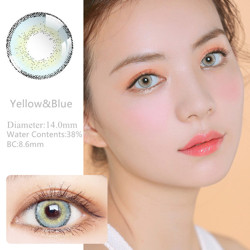 RNTO Yearly Color Contacts Yellow&Blue (2pcs/box)