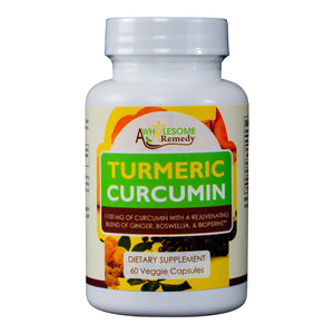 Rejuvenating Turmeric Curcumin Supplement