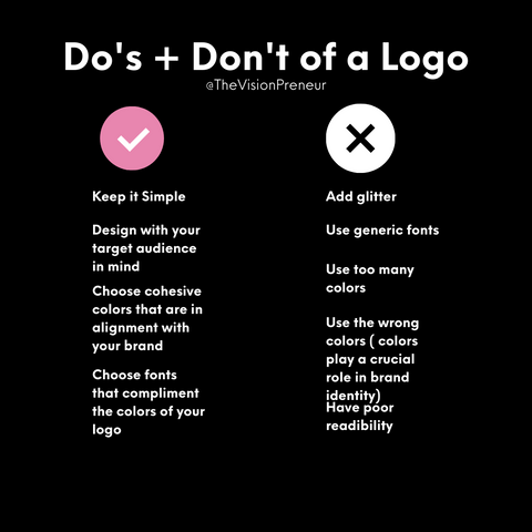 Do's and Don't of a Logo