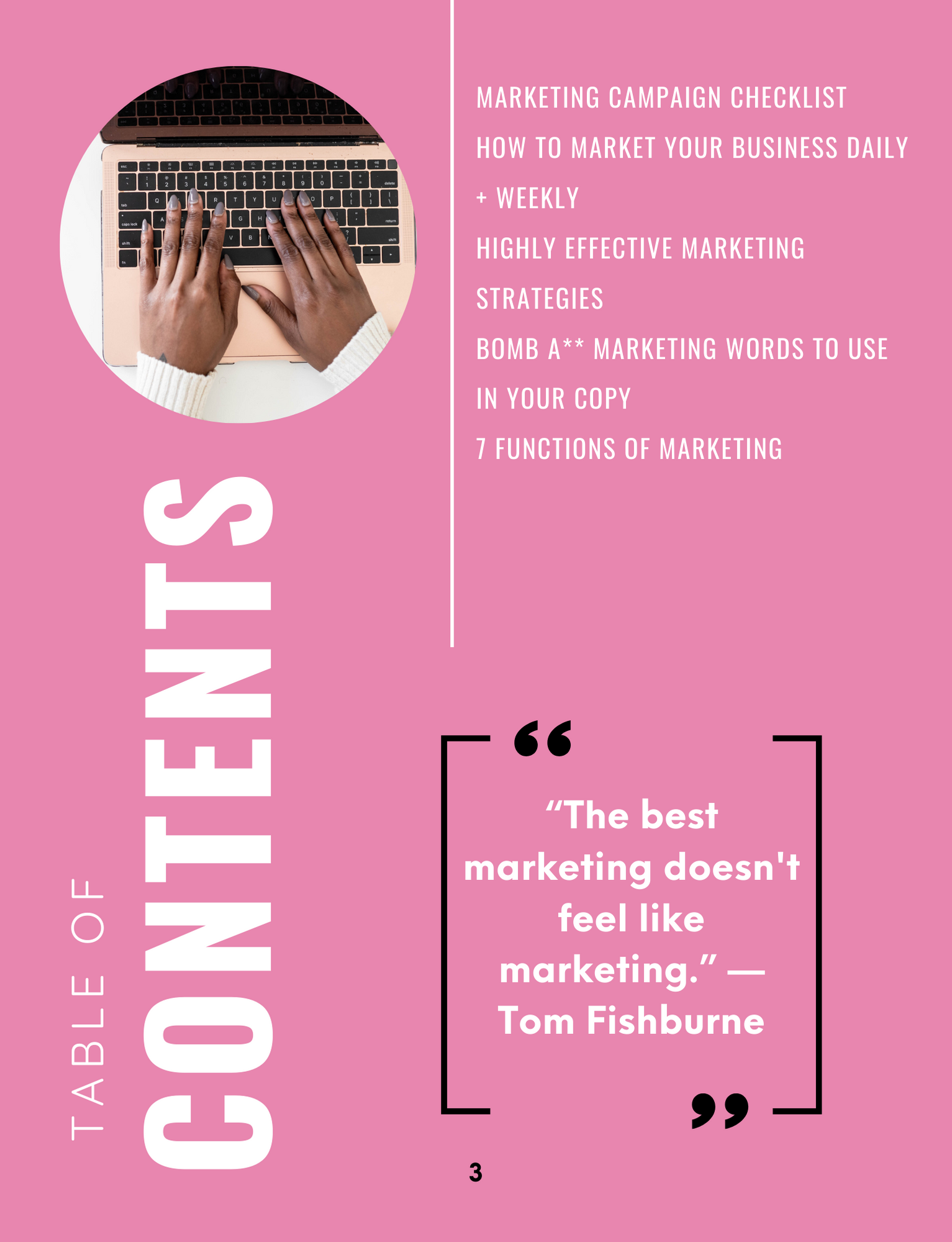 The Marketing Burn Book// How to Effectively Market your Business// Marketing Strategies for Small Business Owners// Market Like a Pro