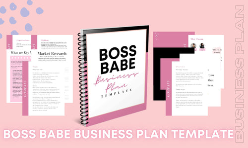 Boss Babe Business Plan Template