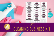 Cleaning Business Kit// Cleaning Business Forms// Home Cleaning Business// Cleaning Services// EDITABLE// DIGITAL DOWNLOAD