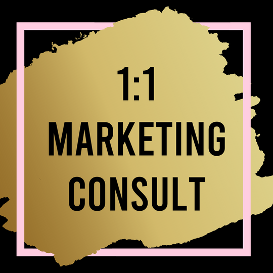 1:1 Marketing Consultation