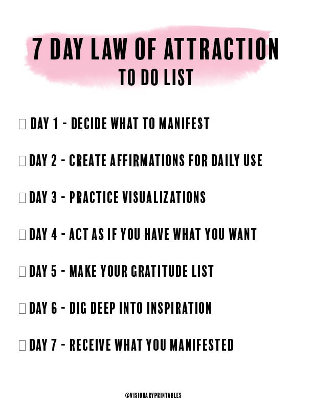 Law of Attraction Planner (eBook)