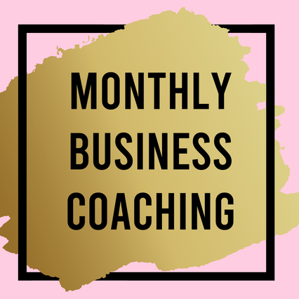MONTHLY BUSINESS COACHING