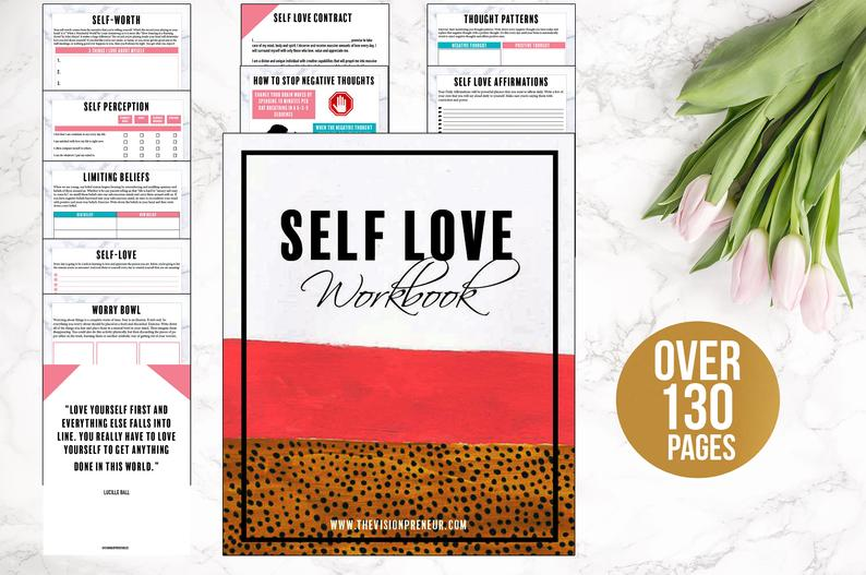 Self-Love Workbook (Digital Workbook)