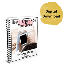 How to Create + Sell Your eBook