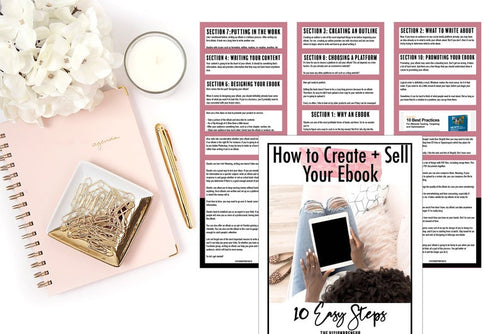 How to Create + Sell Your eBook (eBook)