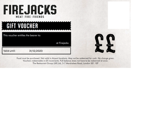 Digital FireJacks Gift Vouchers