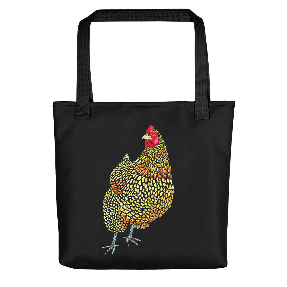 Orpington Chicken - Black - Tote bag