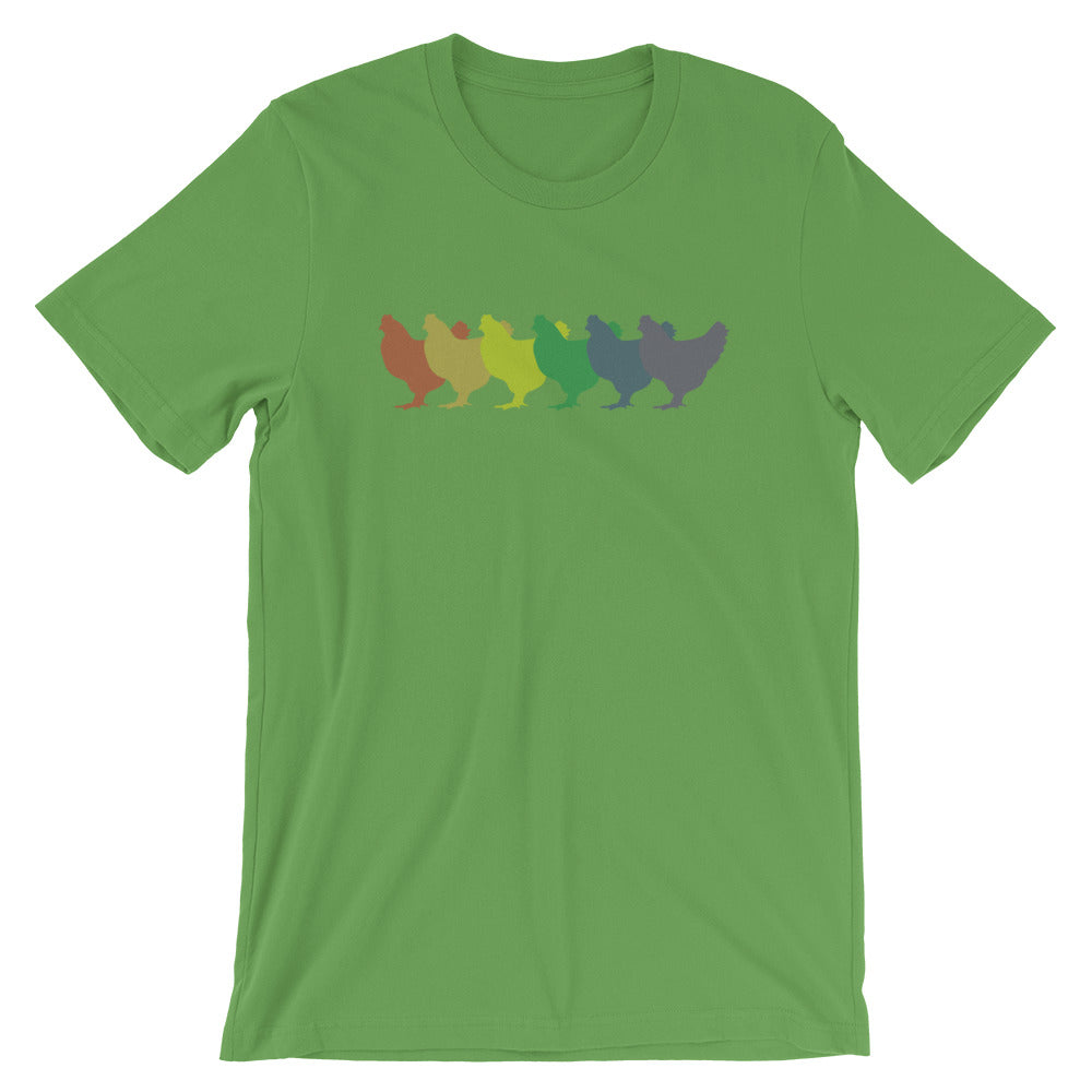 Rainbow Chickens Tee