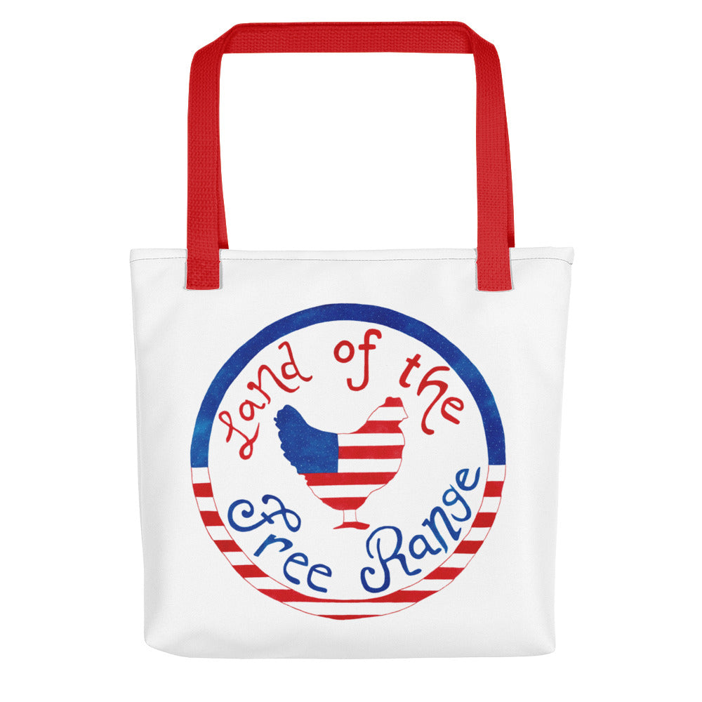 Land of the Free Range Tote bag