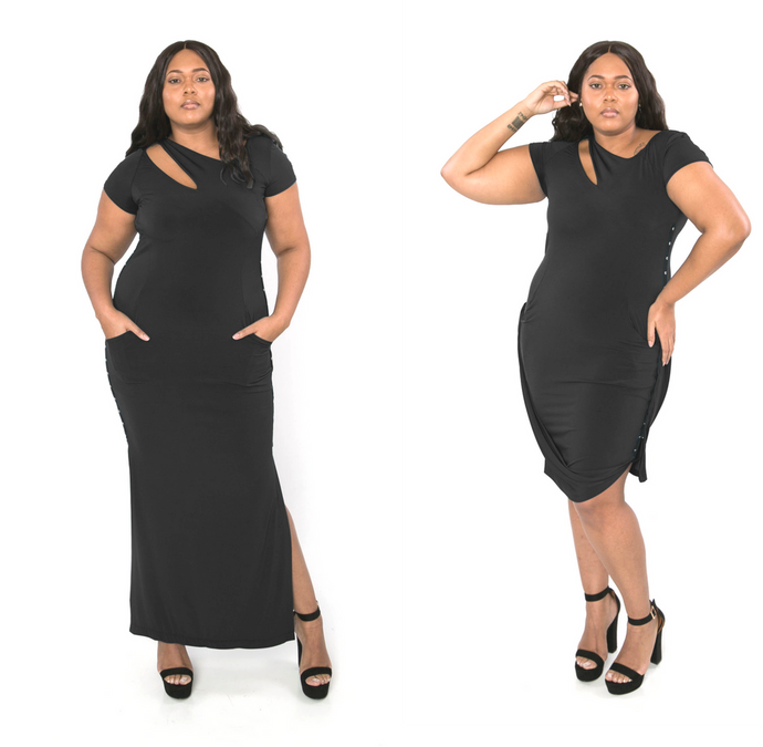 Iconic V-Dress_Black