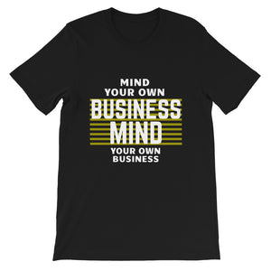 MYOB_Secret_of_Life_Black_Tshirt_Short-Sleeve Unisex