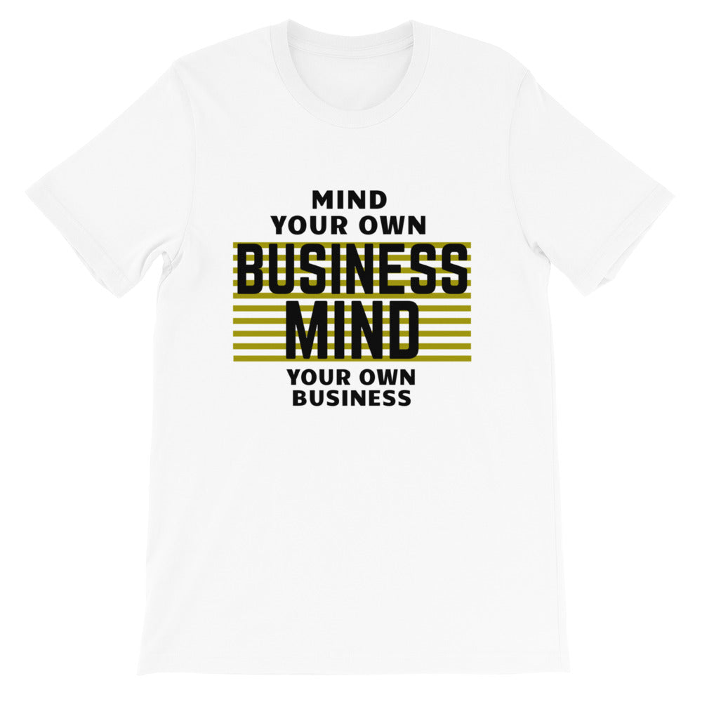 MYOB_Secret_of Life_White_Short-Sleeve Unisex T-Shirt