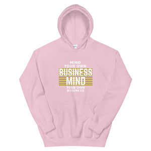 Mind Your Own Business (MYOB)_Secret_of_Life_Black_Unisex Hoodie