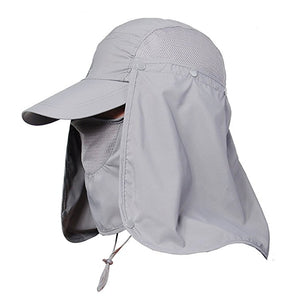 Outdoor 360 UV Protection Fishing Cap