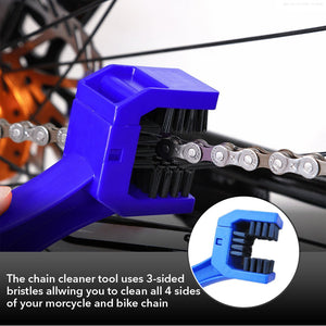 Bike Chain Cleaning Brush