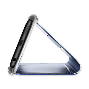 Magic Mirror Flip Stand Touch Case