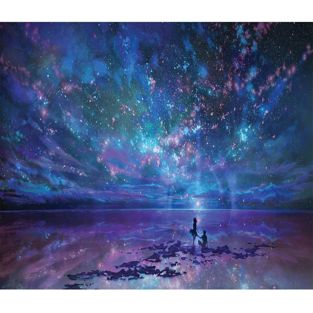 Magic Night Sky 5D Diy Diamond Painting by Number Kit