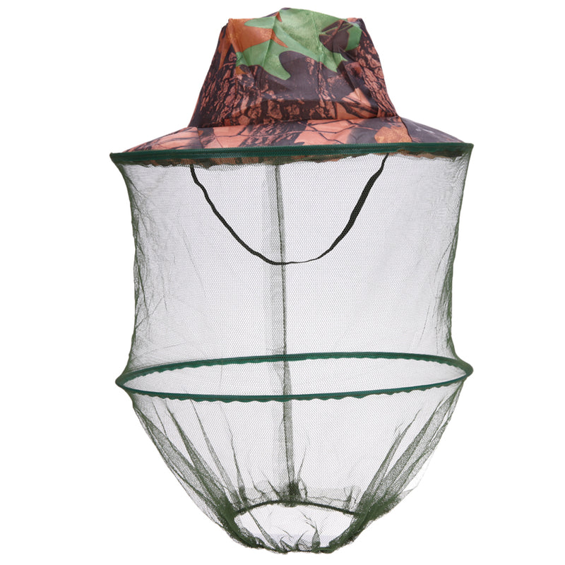 Mosquito Net Fishing Cap