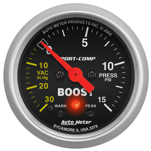 AutoMeter Sport-Comp Analog Gauges 3376