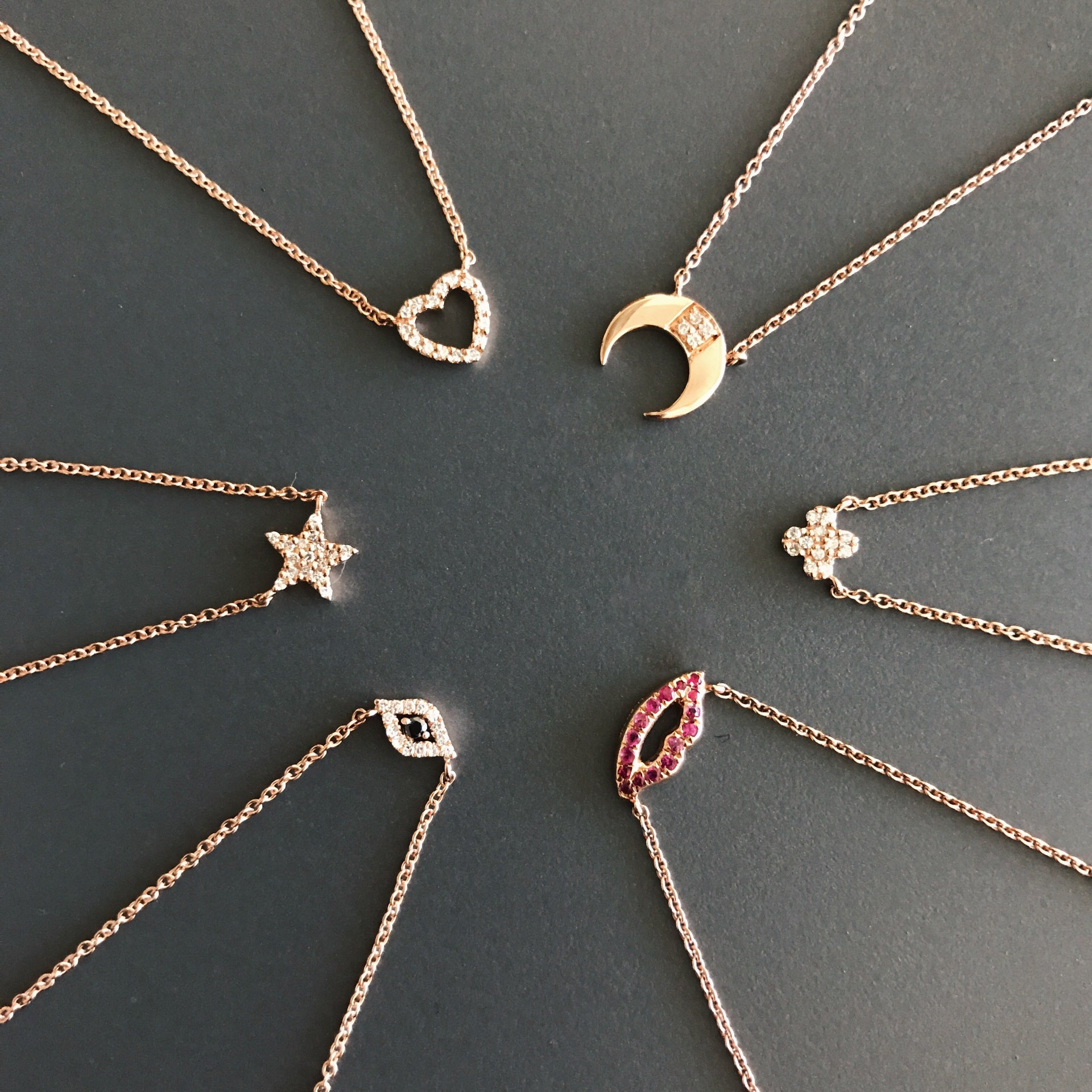 Necklaces with Pendants