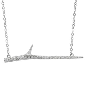 Diamond Thorn Necklace
