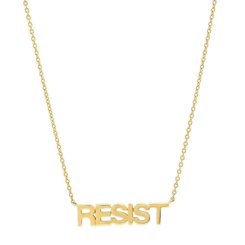 Gold Resist Necklace