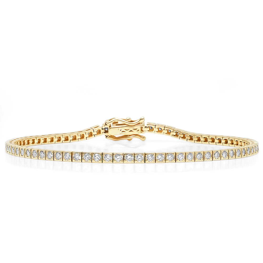 Classic Diamond Tennis Bracelet
