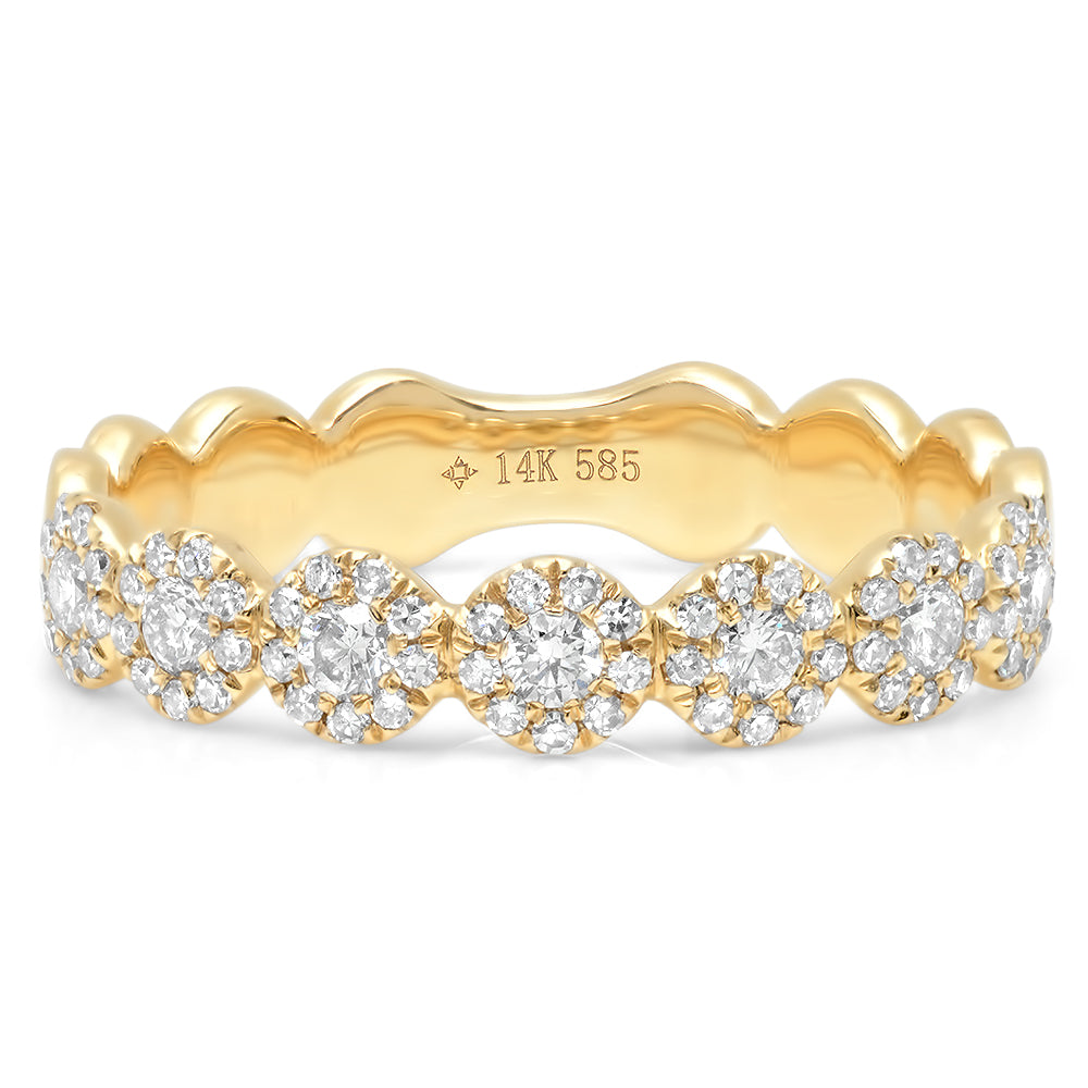 Diamond Flower Band