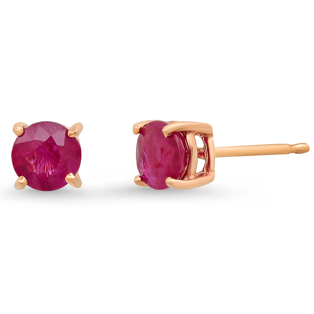 Ruby Solitaire Stud