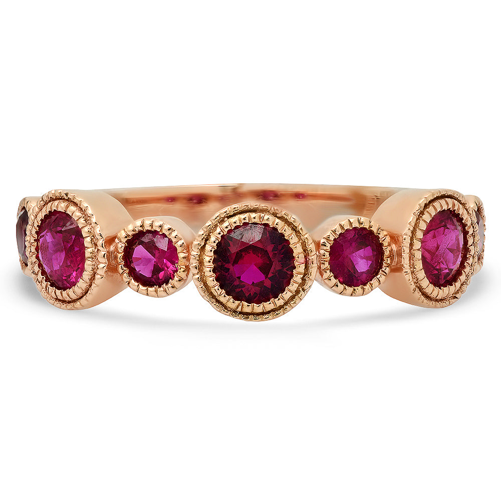 ruby band ring