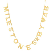 Personalized You Are My Sunshine Fluted Initial Name Necklace