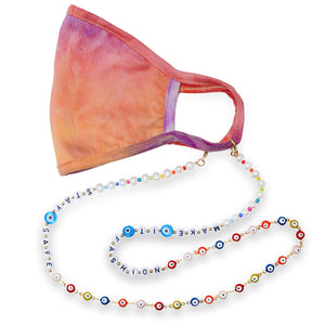 Stay Safe Make it Fashion Evil Eye Mask Chain