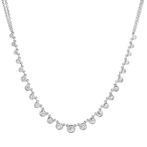 Diamond Bezel Beauty Necklace