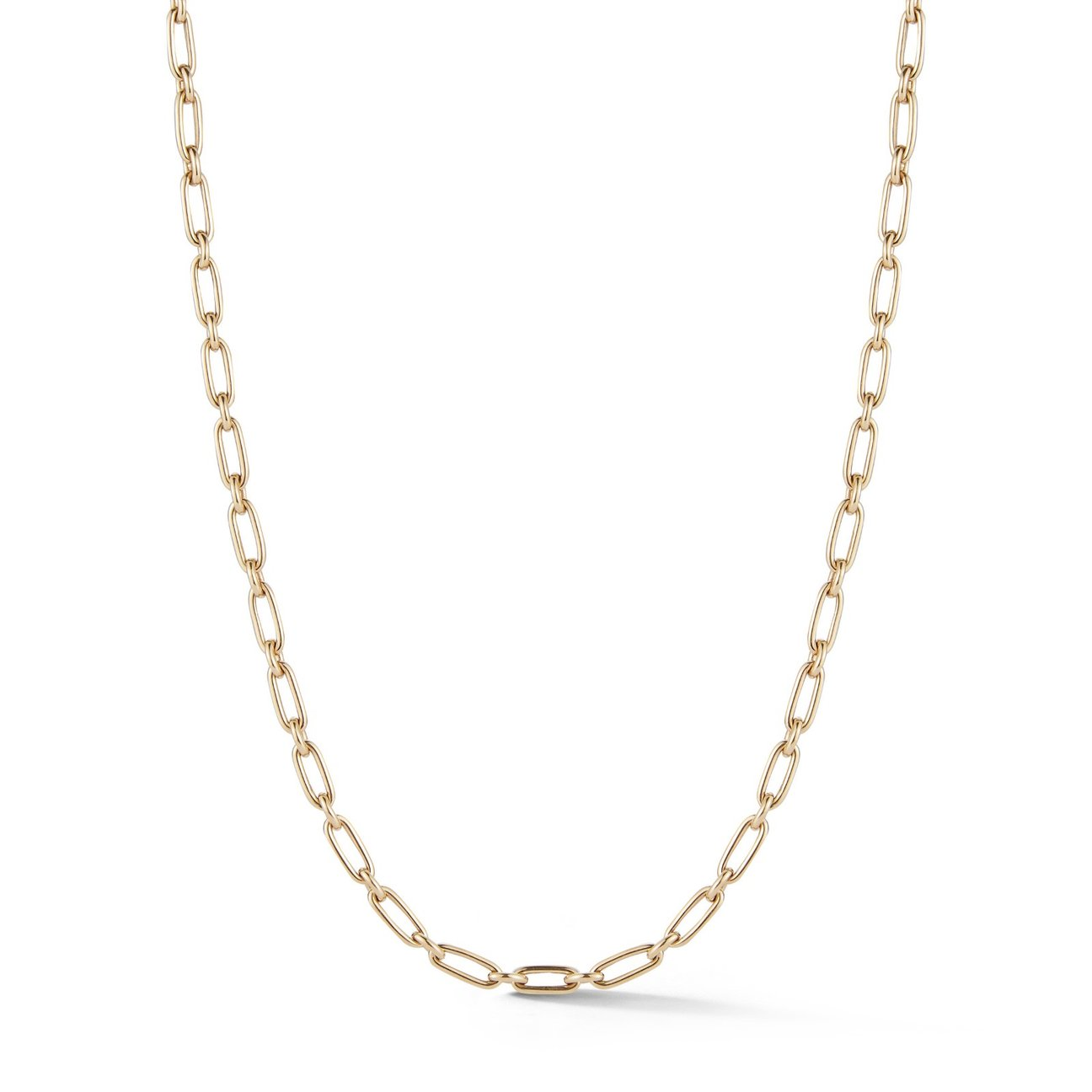 "14K Gold Heavy Handmade 18"" Chain"