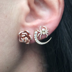 elisabeth bell talon earrings