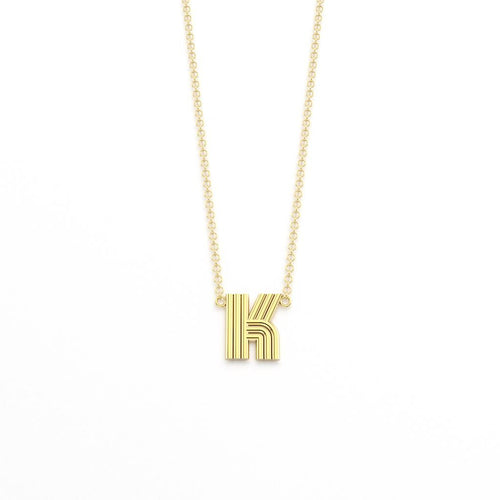 Radiant Initial Pendant Necklace